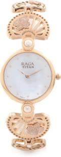 Titan Raga 2567WM01 Aurora Analog White Dial Women's Watch (2567WM01)