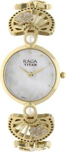 Titan 2567YM01 Analog Mother Of Pearl Dial Women's Watch (2567YM01)