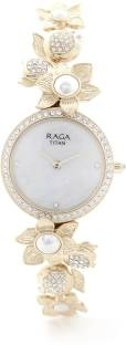 Titan Raga 95043WM01J Aurora Analog Pink Dial Women's Watch (95043WM01J)