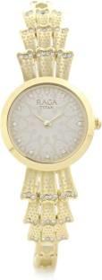 Titan Raga 95044YM01J Aurora Analog Beige Dial Women's Watch (95044YM01J)