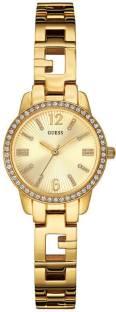 Guess W0568L2 Gold Dial Analog Women's Watch