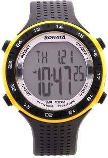 Sonata 77040PP04 Digital Watch (77040PP04)
