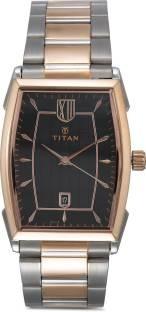 Titan NH1692KM01 Analog Black Dial Men's Watch (NH1692KM01)