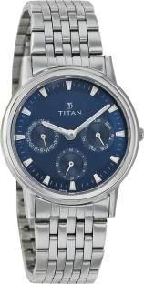 Titan 2557SM03 Blue Analogue Women's Watch (2557SM03)