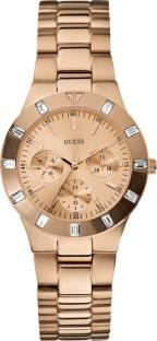 Guess W16017L1 Gold Dial Analog Women's Watch (W16017L1)