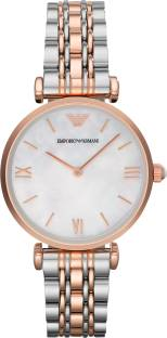 Emporio Armani AR1683 Mother of Pearl Dial Analog Women's Watch