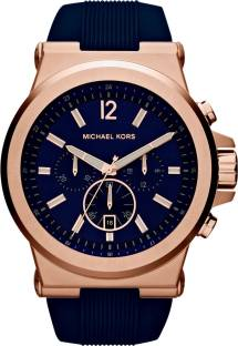 Michael Kors MK8295 Blue Dial Analog Men's Watch