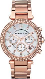 Michael Kors MK5491 Rose Gold Analog Women's Watch