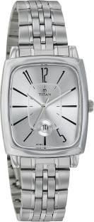 Titan 2558SM01 Analog Silver Dial Women's Watch (2558SM01)