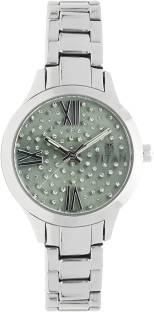Titan 95027SM03J Autumn Winter Analog Green Dial Women's Watch (95027SM03J)