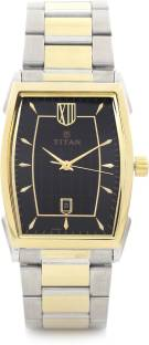 Titan 1692BM02 Black Dial Analog Men's Watch (1692BM02)