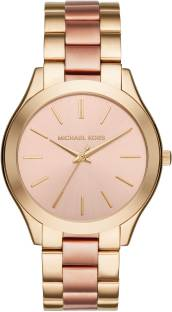 Michael Kors MK3493 Rose Gold Dial Analog Women's Watch