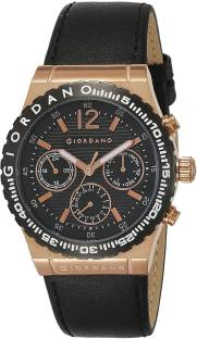 Giordano 1757-03 Black Dial Analog Men's Watch (1757-03)