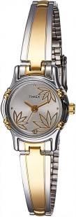 Timex TW000B815 Classics Analog Silver Dial Women's Watch (TW000B815)