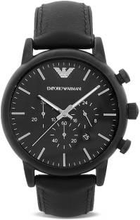 Emporio Armani AR1970 Black Dial Chronograph Men's Watch
