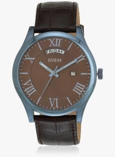 Guess W0792G6 Brown Round Analog Men's Watch (W0792G6)