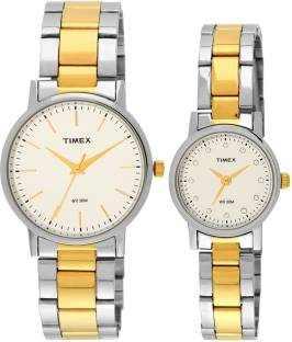 Timex TW00PR197 Classics Analog Couple Watch (TW00PR197)