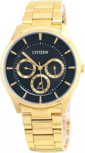 Citizen AG8352-59E Analog Casual Black Dial Men's Watch (AG8352-59E)
