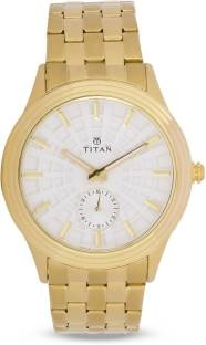 Titan Regalia 1722YM01 Rome Analog Silver Dial Men's Watch (1722YM01)