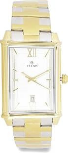 Titan Regalia 1720BM01 Rome Analog Silver Dial Men's Watch (1720BM01)