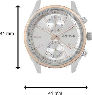 Titan Neo 1733KL02 Analog Silver Dial Men's Watch (1733KL02)