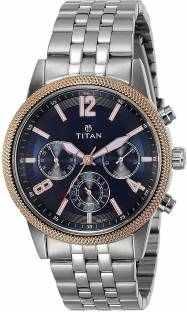 Titan Neo 1734KM01 Analog Blue Dial Men's Watch (1734KM01)