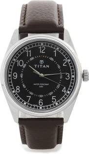 Titan Neo 1729SL02 Analog Black Dial Men's Watch (1729SL02)