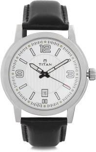 Titan Neo 1730SL01 Analog Black Dial Men's Watch (1730SL01)