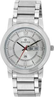 Maxima 21015CMGI Analog Silver Dial Men's Watch (21015CMGI)