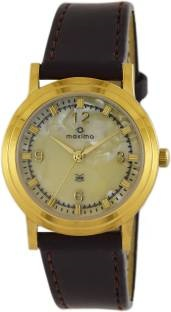 Maxima 38417LMGY Analog Mother Of Pearl Dial Men's Watch (38417LMGY)
