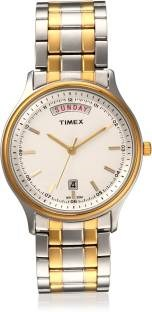 Timex TW0TG5909 Analog White Dial Men's Watch (TW0TG5909)