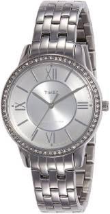 Timex TW000Y805 Fashion Analog Silver Dial Women's Watch (TW000Y805)