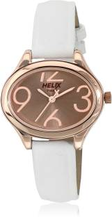 Timex TW029HL10 Helix White Dial Analog Women's Watch (TW029HL10)
