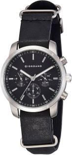 Giordano 1772-01 Black Dial Analog Men's Watch (1772-01)