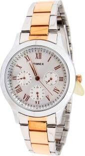 Timex TW000Q807-27 Analog Silver Dial Women's Watch (TW000Q807-27)
