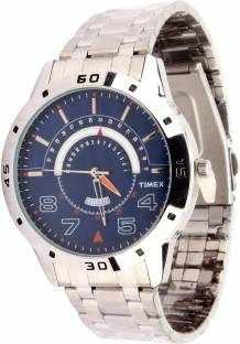 Timex TW000U907-28 Analog Blue Dial Men's Watch (TW000U907-28)