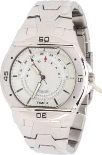 Timex TW000EL06 Analog Silver Dial Men's Watch (TW000EL06)