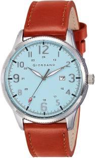 Giordano A1048-03 Blue Dial Analog Men's Watch (A1048-03)