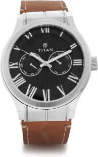 Titan 90051SL02J Spring Summer Analog Blue Dial Men's Watch (90051SL02J)