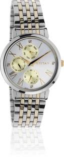 Titan 2569BM02 Stainless Steel Strap Women's Watch (2569BM02)