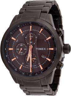 Timex TW000Y418 E Class Chronograph Black Dial Men's Watch (TW000Y418)