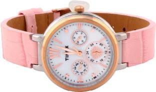Timex TWEL11702 Analog White Dial Women's Watch (TWEL11702)