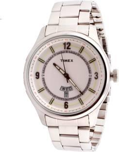Timex TWEG14504 E Class Analog Silver Dial Men's Watch (TWEG14504)