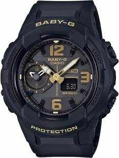 Casio Baby-G BGA-230-1BDR (B170) Analog Digital Grey Dial Women's Watch (BGA-230-1BDR (B170))