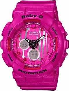 Casio Baby-G BA-120SP-4ADR (B175) Analog-Digital Pink Dial Women's Watch (BA-120SP-4ADR (B175))