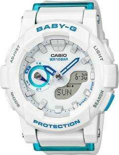 Casio Baby-G BGA-185FS-7ADR (BX074) Analog-Digital Blue Dial Women's Watch (BGA-185FS-7ADR (BX074))