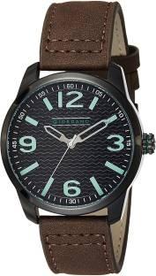 Giordano A1049-03 Black Dial Analog Men's Watch (A1049-03)