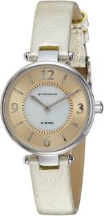 Giordano 2796-03 Gold & White Analog Women's Watch (2796-03)