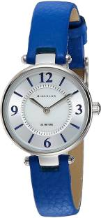 Giordano 2796-02 Silver- Toned & White Analog Women's Watch (2796-02)