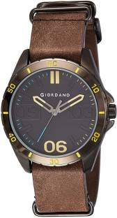 Giordano A1050-03 Black Dial Analog Men's Watch (A1050-03)